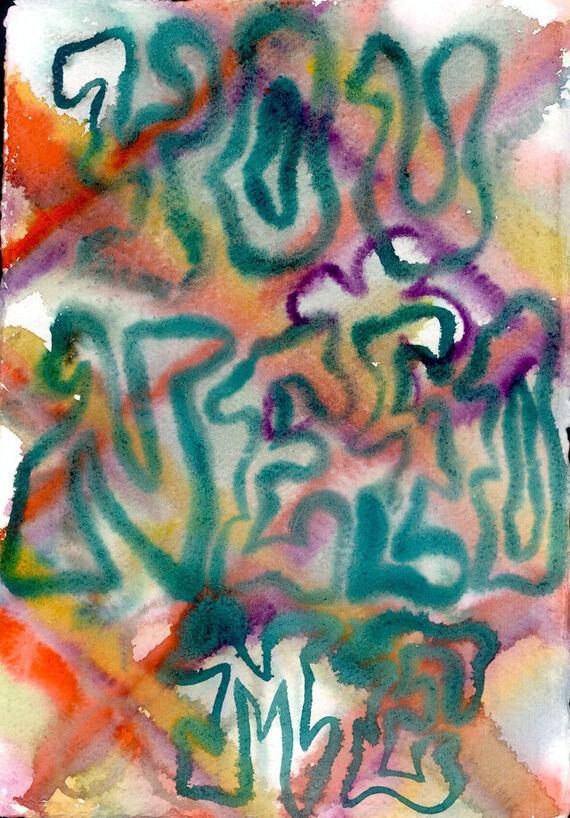 Bez názvu #4 (akvarel) by Alžběta Krňanská,