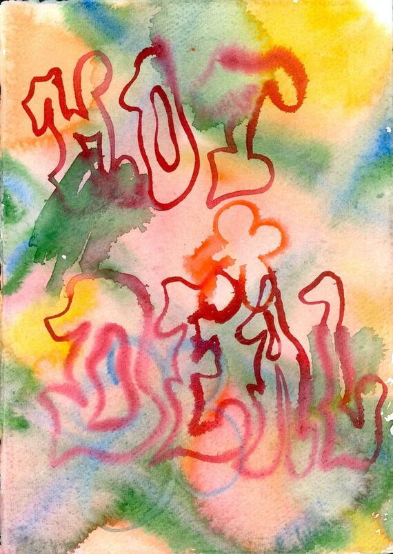 Bez názvu #5 (akvarel) by Alžběta Krňanská,