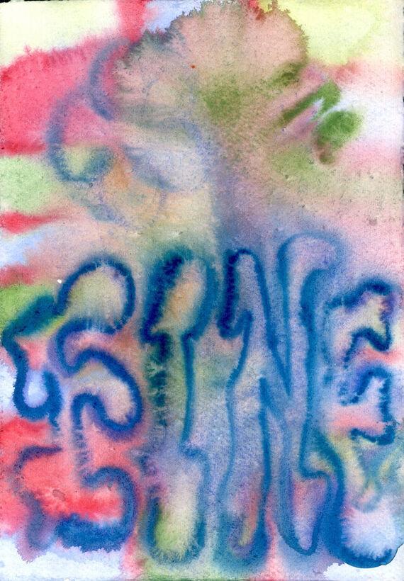 Bez názvu #6 (akvarel) by Alžběta Krňanská,