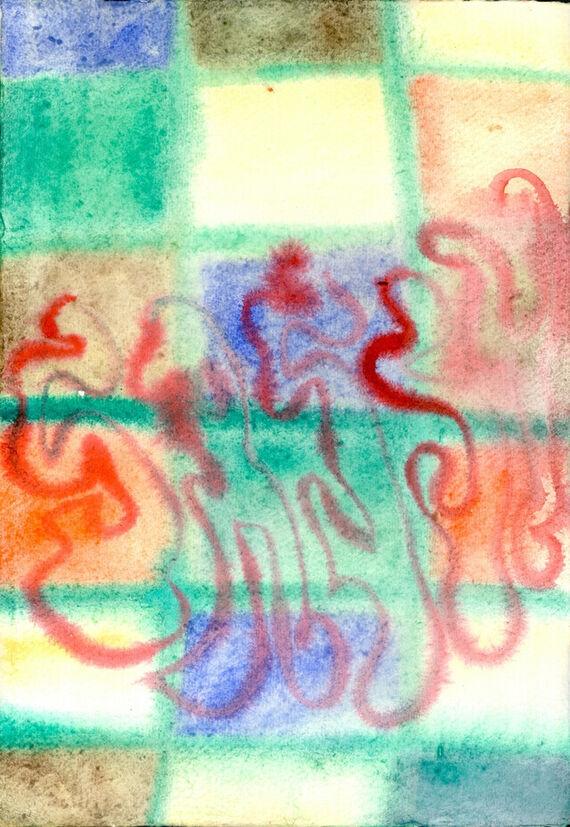 Bez názvu #7 (akvarel) by Alžběta Krňanská,