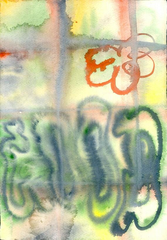 Bez názvu #8 (akvarel) by Alžběta Krňanská,