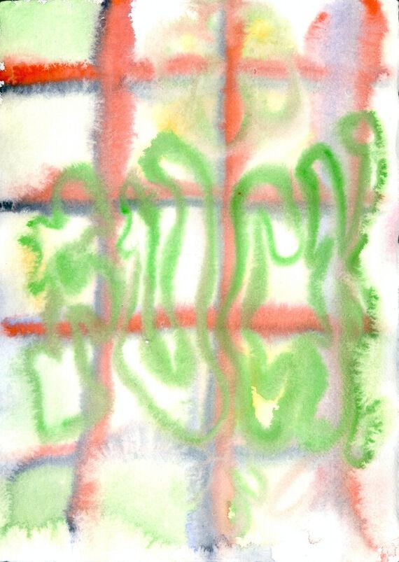 Bez názvu #12 (akvarel) by Alžběta Krňanská,