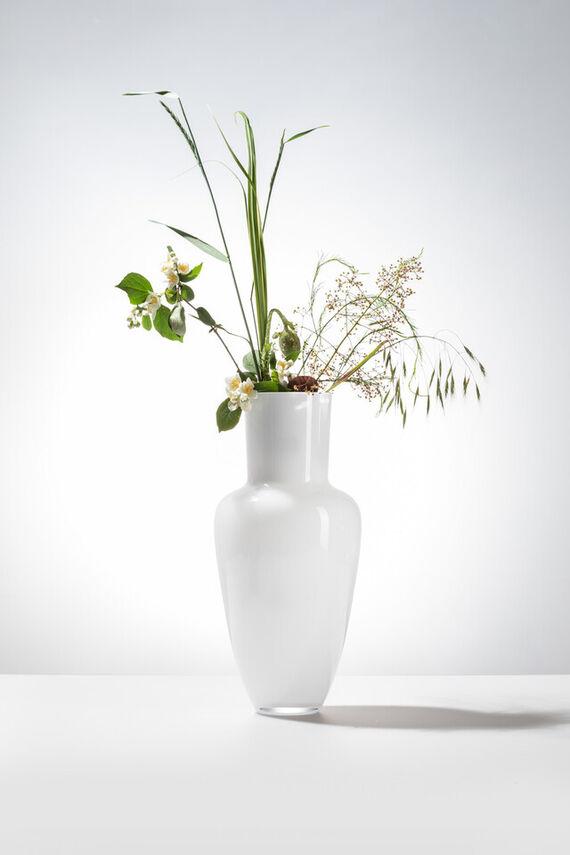 Garden vase - White by František  Jungvirt,