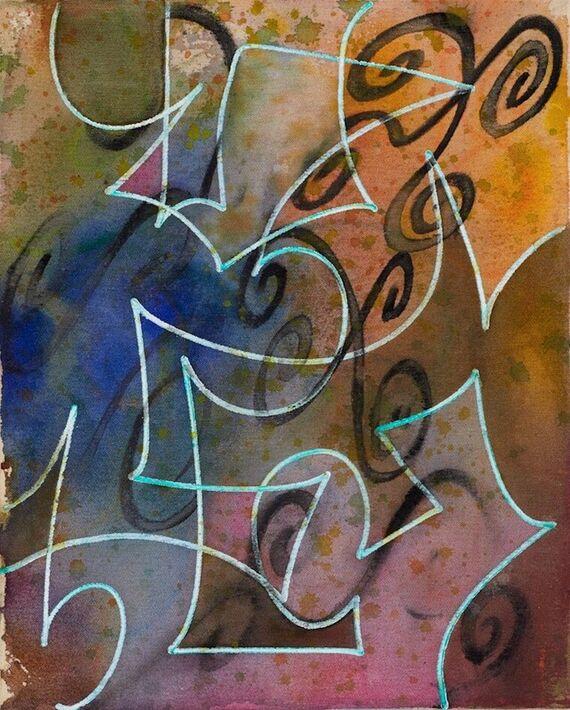 Bez názvu #1 (akryl) by Alžběta Krňanská,