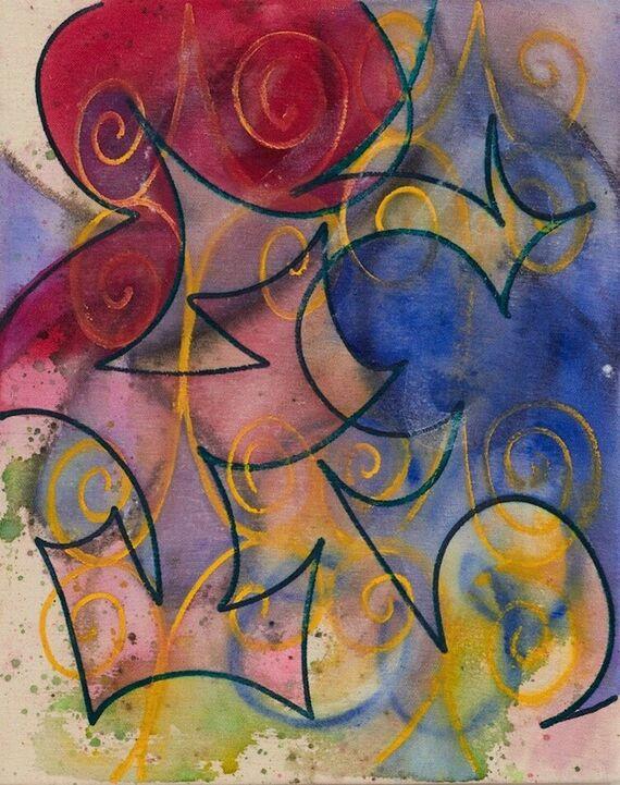 Bez názvu #2 (akryl) by Alžběta Krňanská,