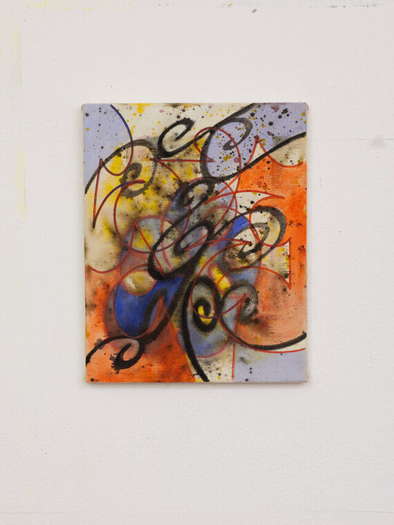 Artwork Untitled #3 (acryl) other picture