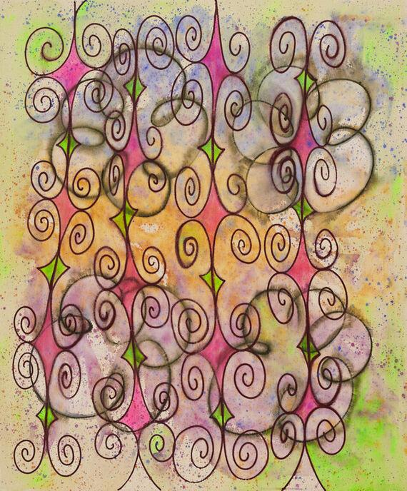 Bez názvu #7 (akryl) by Alžběta Krňanská,