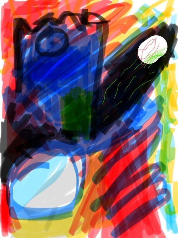 phone drawing 3911 by Adam Uchytil,