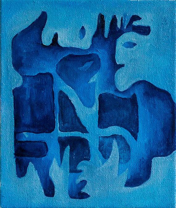 Untitled I. by Nikola Lourková,