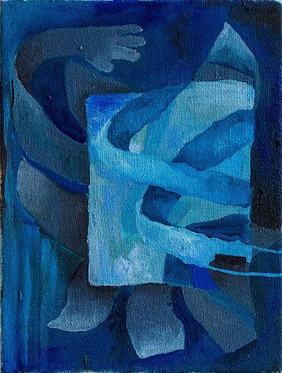 Untitled II. by Nikola Lourková,