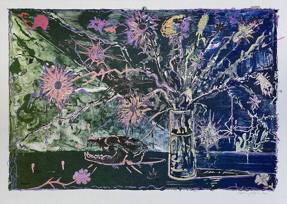 Flowers / Vanitas 5 by Martin Salajka,