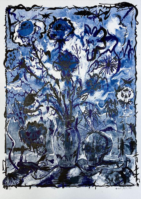 Flowers / Vanitas 3 by Martin Salajka,
