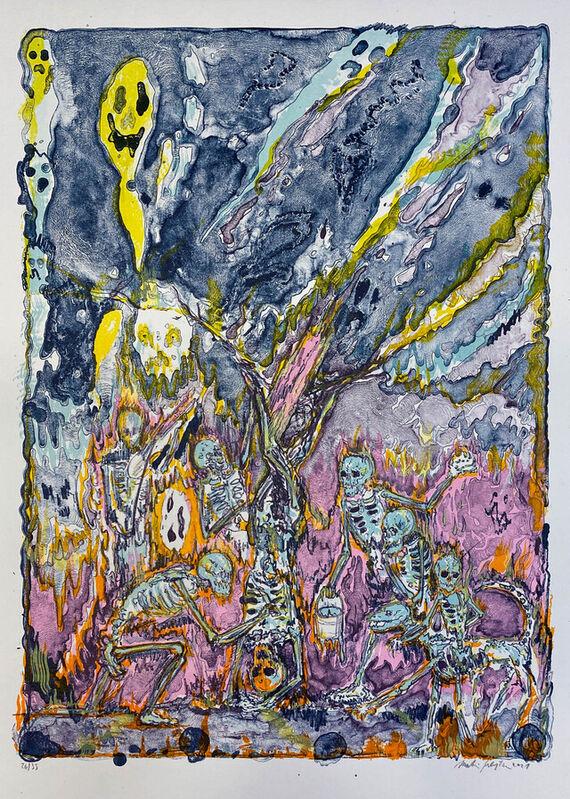 Flaying of Marsyas (according the Titian) III. by Martin Salajka,