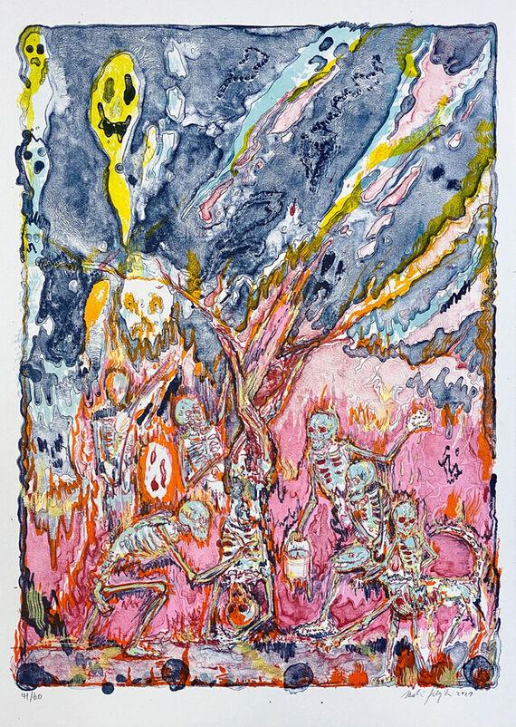 Flaying of Marsyas (according the Titian) II. by Martin Salajka,