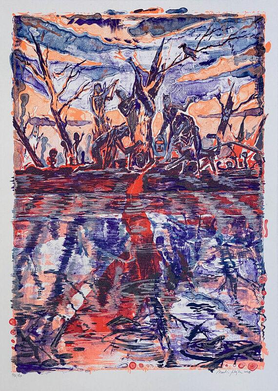 Flaying of Marsyas (according the Titian) I. by Martin Salajka,