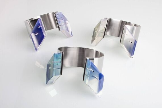 Crystal bracelet by Katerina  Reich,