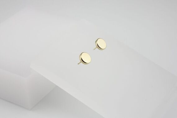 Kyō earrings dots big by Katerina  Reich,