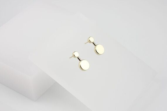 Kyō earrings small  by Katerina  Reich,