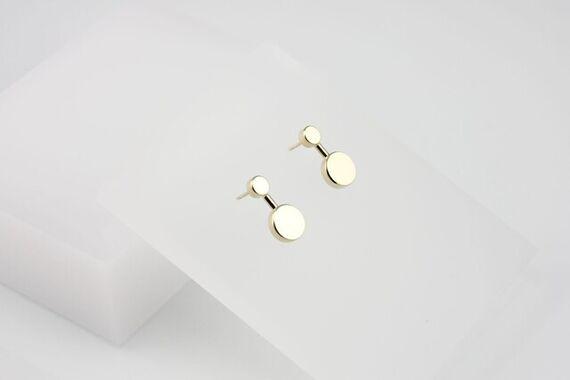 Kyō earrings small  by Katerina  Reich,