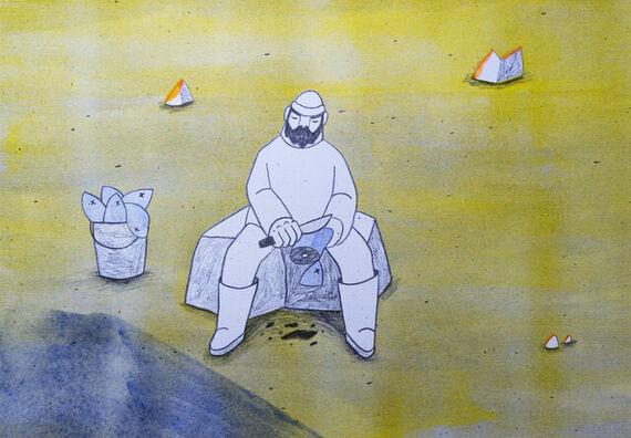 Rybář by Pavla Baštanová,