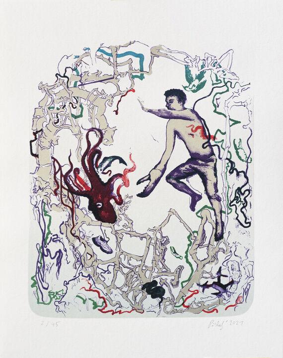 Fairytale fantasy about disharmony by Pavel Příkaský,