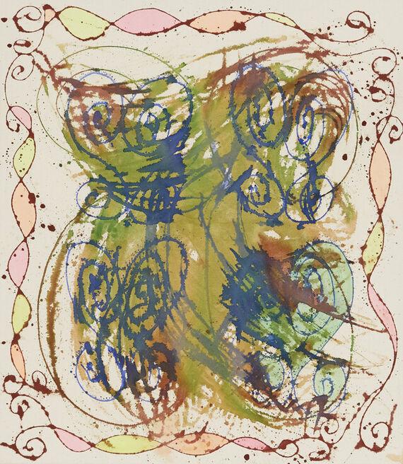Bez názvu #18 (akryl) by Alžběta Krňanská,