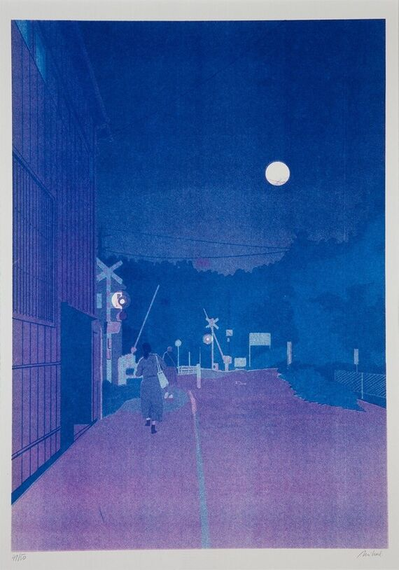 Evening Kamakura by Jakub Mikuláštík,