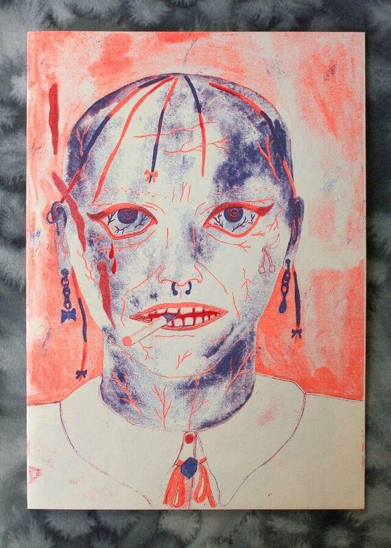 """Zine """"Changing perspectives"""" by Eva Jaroňová,"""