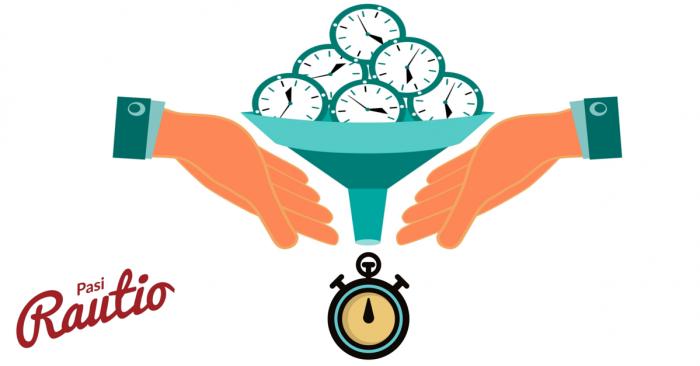 Käyttämällä enemmän aikaa, säästät aikaa