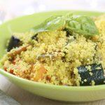 Couscous cremoso con zucchine e ricotta