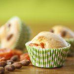 Muffin con bacche di Goji e noci