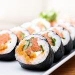 Mangiare sushi in modo salutare