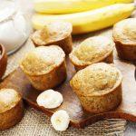 Cupcakes vegani con banana e burro di arachidi