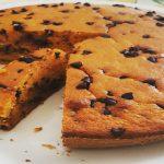 Torta vegana di carote e cioccolata