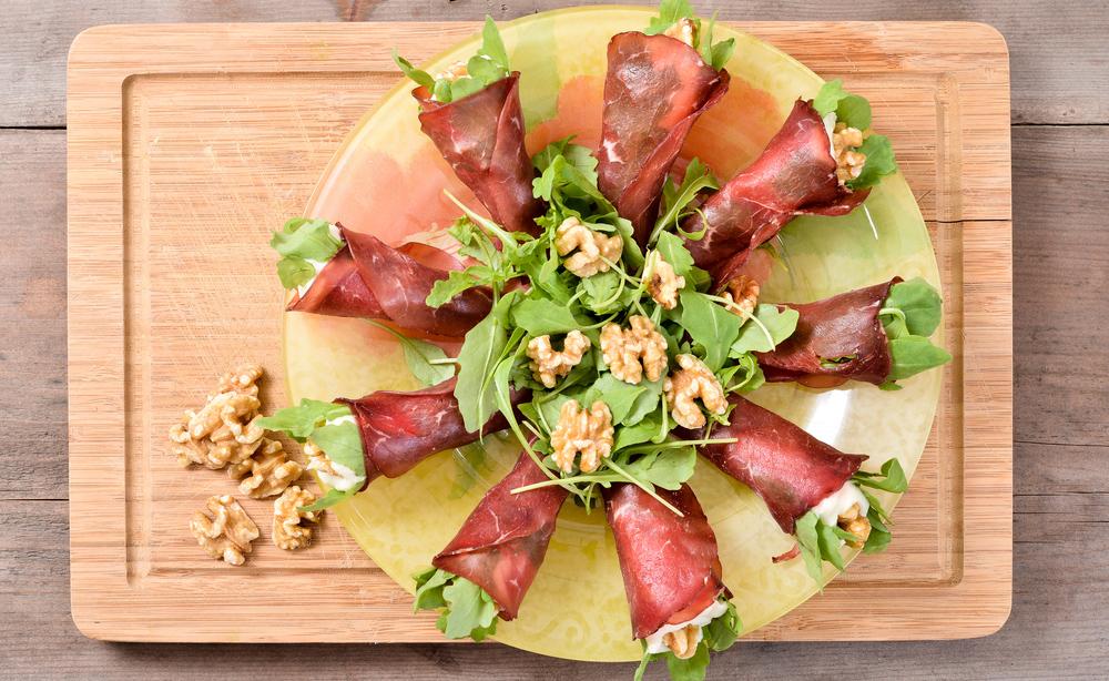 bresaola: ricetta pausa pranzo