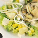 Insalata di tofu e champignon | Pazienti.it