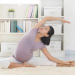 Gli esercizi di fitness in gravidanza
