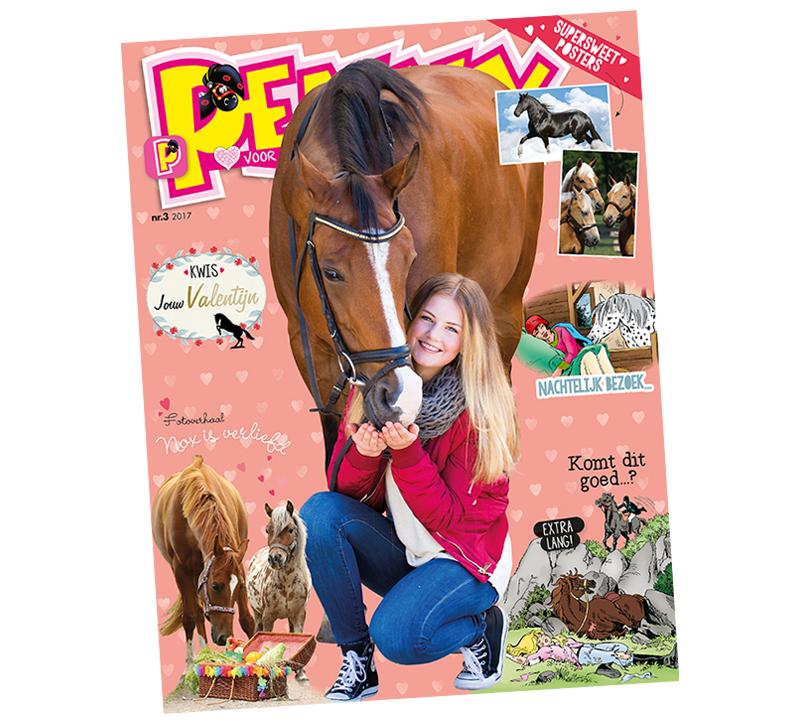 Penny H 233 T Striptijdschrift Voor De Paardengek