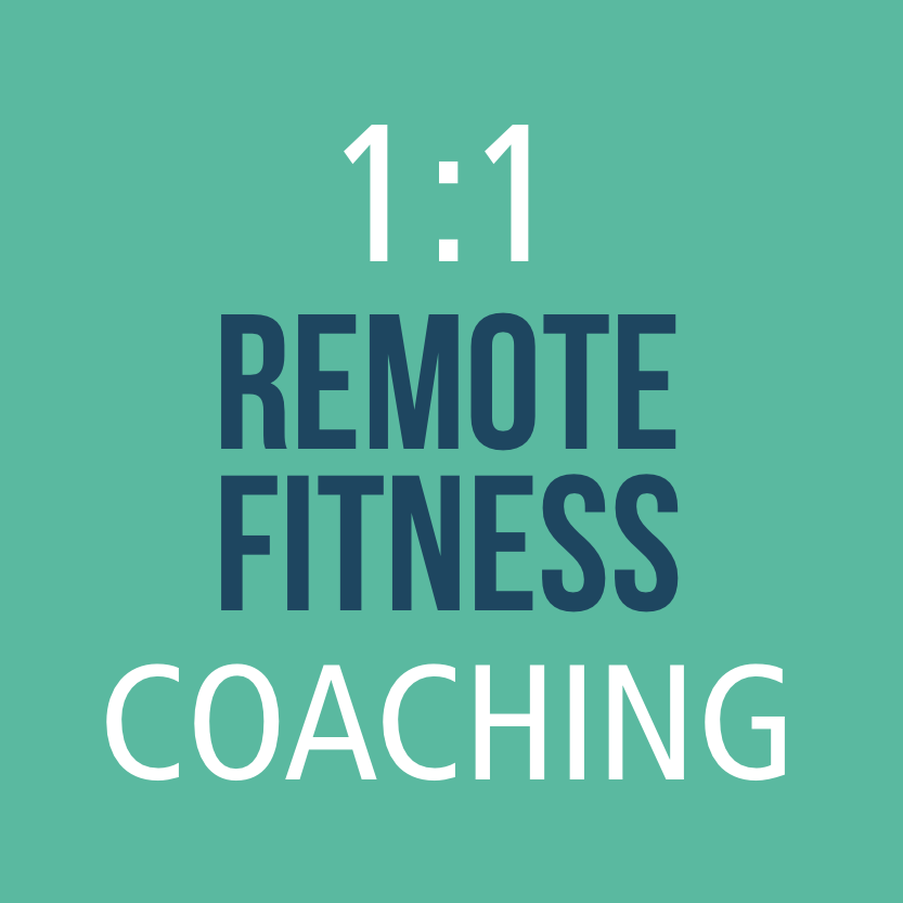 1:1 Individuelles Remote Fitness Coaching