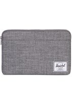 Herschel Anchor MacBook Sleeve, Grå/Raven Crosshatch