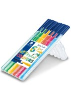 "STAEDTLER Triplus color tusser, 6 stk. ""Tropical colours"""