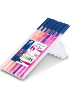 "STAEDTLER Triplus color tusser, 6 ass. ""Flamingo colours"""