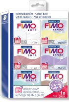 "FIMO Soft Colour pack, ""Candy Colours"" 6 stk."