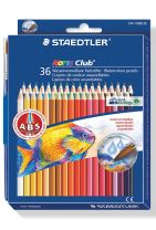 STAEDTLER Noris Club akvarel farveblyanter, 36 stk.