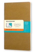 MOLESKINE CHAPTERS JOURNAL TAWNY OLIVE S