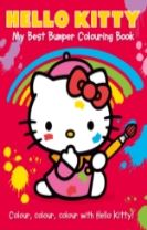 Hello Kitty: My Best Bumper Colouring Book