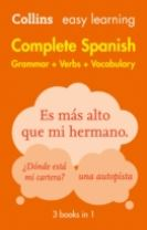 Easy Learning Spanish Complete Grammar, Verbs and Vocabulary (3 books in 1)