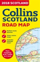 2018 Collins Map of Scotland