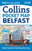Collins Belfast Pocket Map
