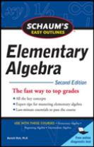 Schaum's Easy Outline of Elementary Algebra, Second Edition